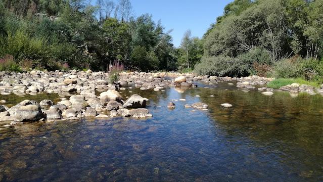 Rio Ceira no Verão