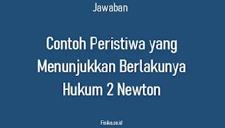 Contoh Peristiwa Hukum 2 Newton