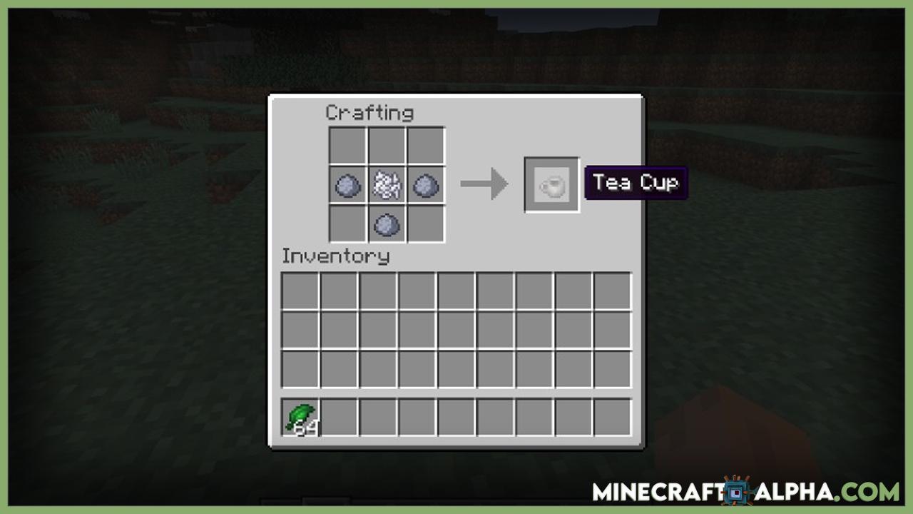 Simply Tea Mod 1.16.5 (Tea Trees, Teapots)