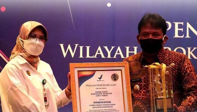 Kabupaten Nganjuk Dapat Dua Penghargaan Sekaligus