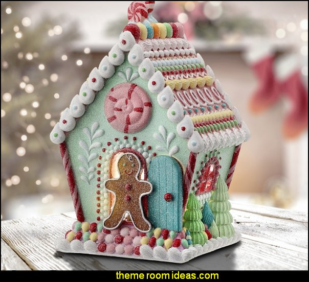 Pastel Candy House christmas candyland decorations candy land christmas