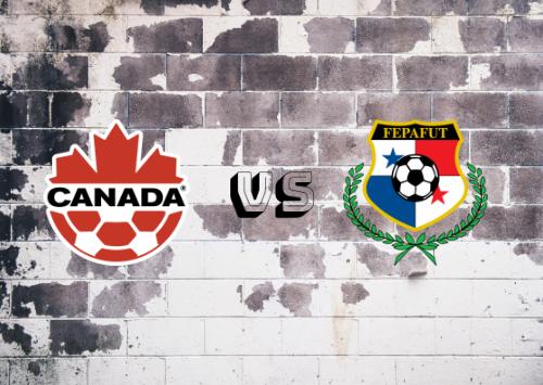 Canadá vs Panamá  Resumen
