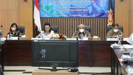 Tim Kerja Uji Sahih RUU Inisiatif DPD RI tentang Pinjaman Daerah