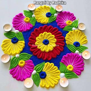 Simple Best Rangoli Designs