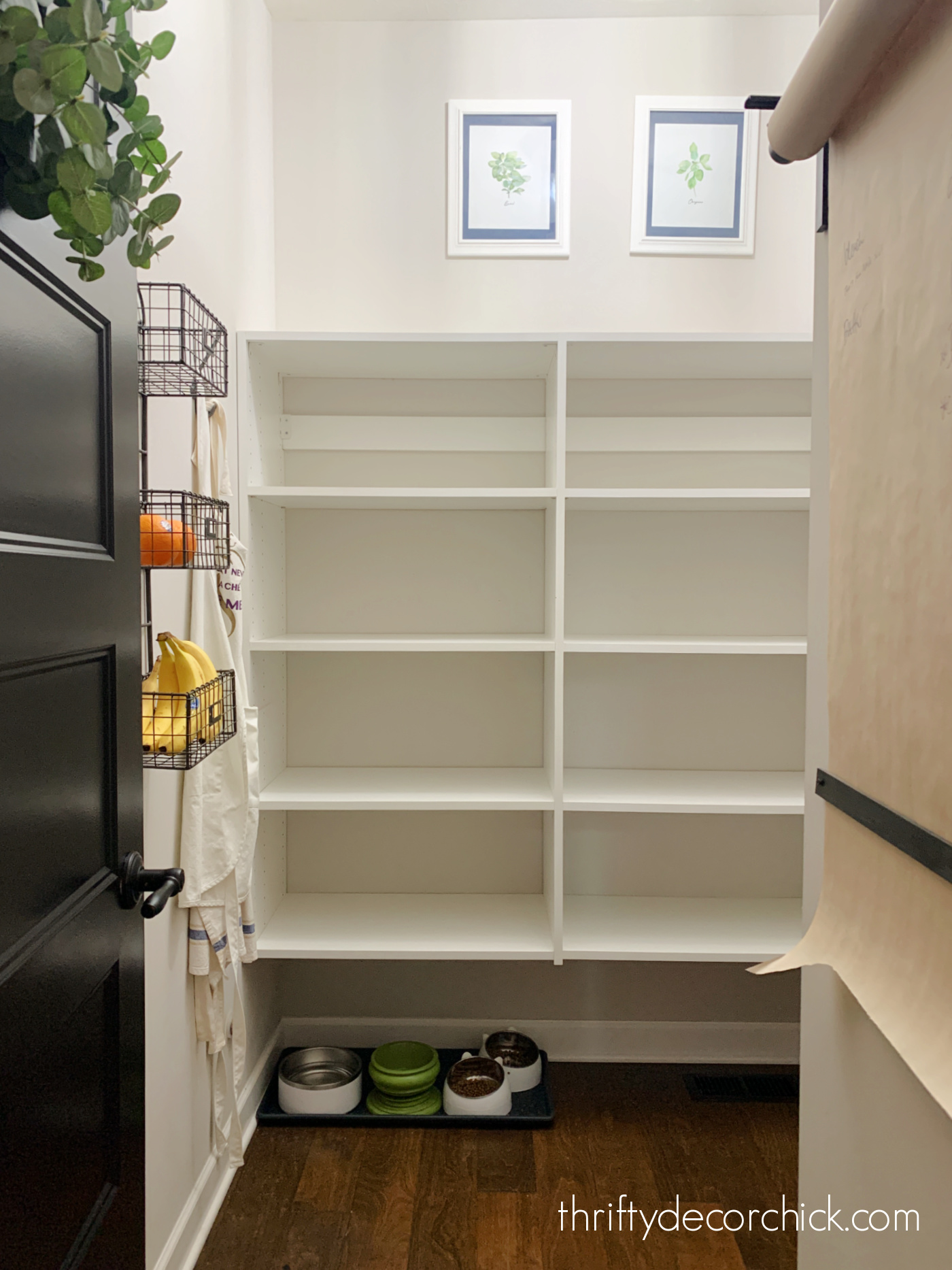 melamine pantry unit shelves