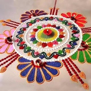 New Rangoli Designs For Diwali