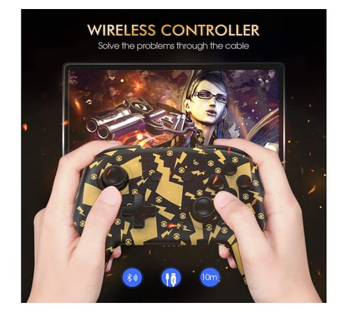 EasySMX Double Vibration Wirless Controller for Switch