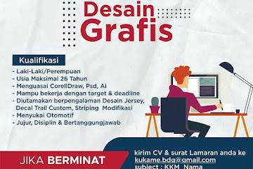 Loker Bandung Staf Desain Grafis Kukame