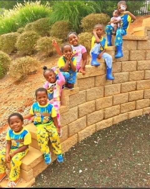 Wow, See The Picture Of 25 Year's Lady Who Gave Birth To 9 Children's.