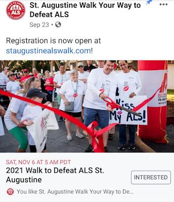 2021 Walk to Defeat ALS St. Augustine