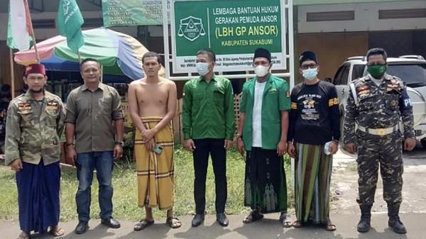 GP Ansor Bela Ustaz di Sukabumi yang Diisukan Wali