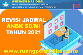Revisi Jadwal AN/ANBK Jenjang SD/MI Tahun 2021