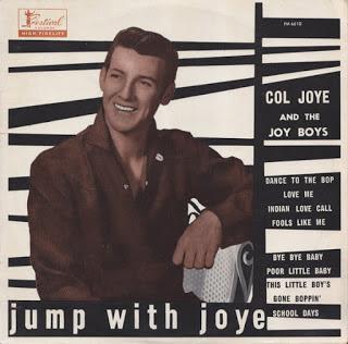 Col Joye & The Joy Boys - 1959 - Jump With Joye @320. With Cover