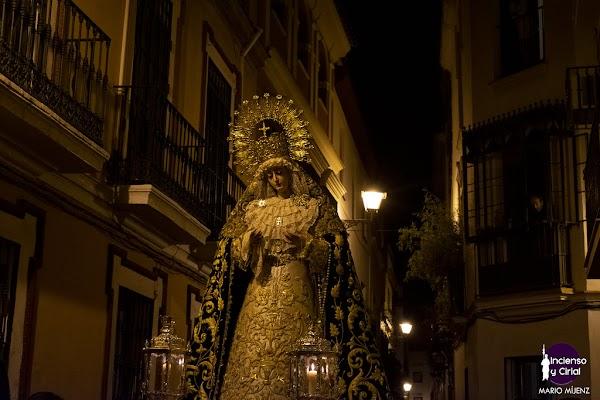 Horario e Itinerario Traslado de la Virgen del Rosario de Montesión al Convento del Espiritu Santo. Sevilla 13 de Octubre del 2021