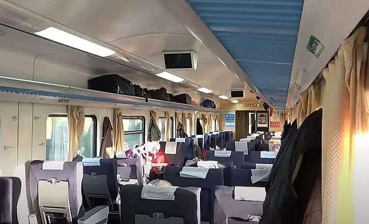 PINAMAR Tren, como es el tren ? Interior