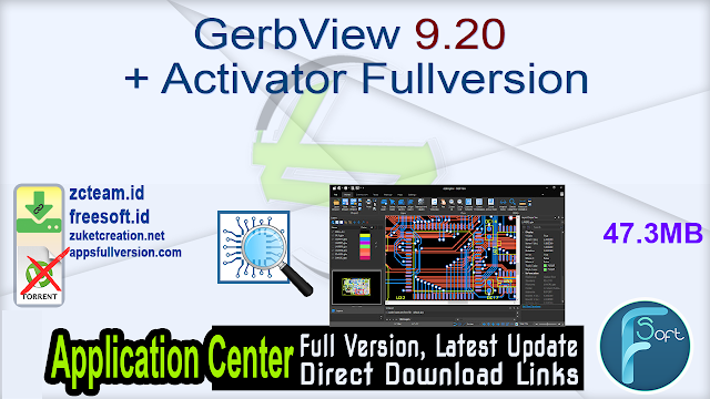 GerbView 9.20 + Activator Fullversion