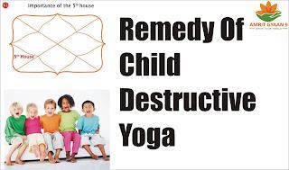 Remedy Of Child Destructive Yoga