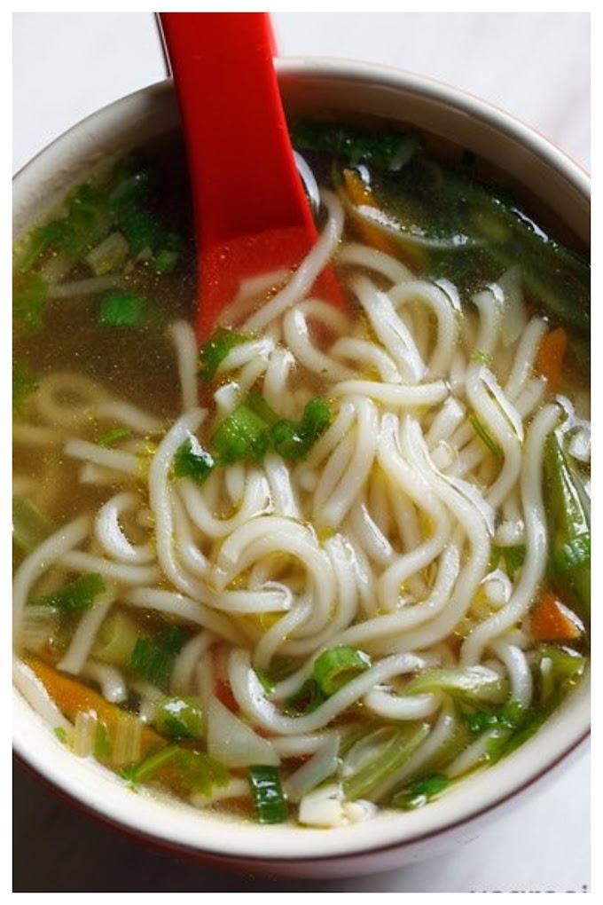 Noodles Soup Recipe - நூடில்ஸ் சூப் செய்முறை