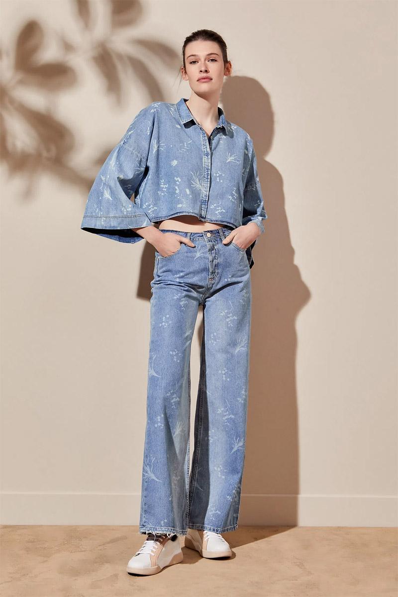 moda jeans de mujer 2022 verano