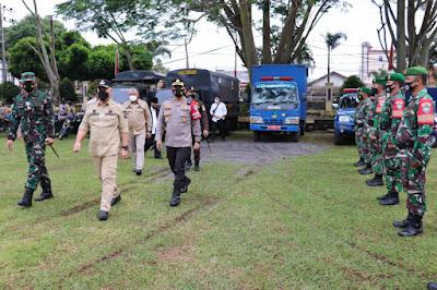 Letkol Inf, Tedyy Sofyan Dukung Apel Kesiapsiagaan Bencana Alam