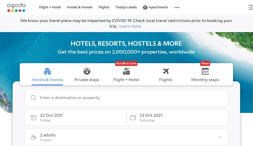 Agoda - Best 10 Hotel Booking App In India 2021 - Techmexo.com