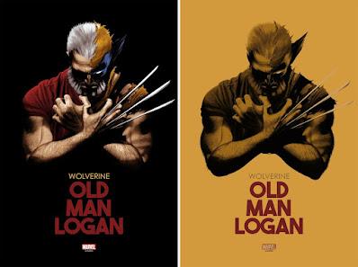 "New York Comic Con 2021 Exclusive Wolverine ""Old Man Logan"" Marvel Screen Print by Matt Griffin x Bottleneck Gallery"