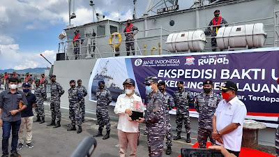 KPw BI Sulut Lakukan Kegiatan Kas Keliling di Kepulauan 3T