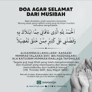 Doa Agar Selamat Dari Musibah