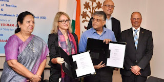 Ministry of Textiles signed MoU with Germany's GIZ