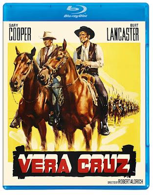 The Western Vera Cruz (1954) has been released on Blu-ray