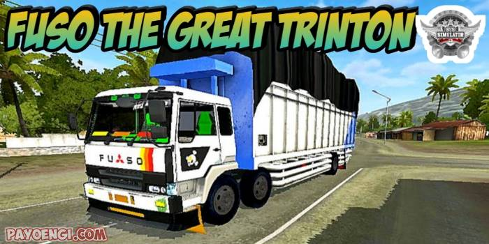 mod truck fuso tg trintin