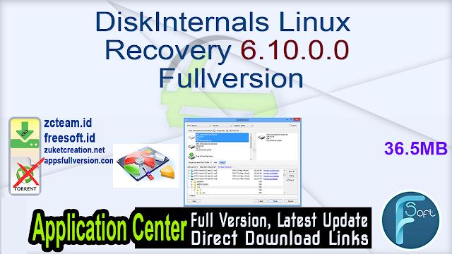 DiskInternals Linux Recovery 6.10.0.0 Fullversion