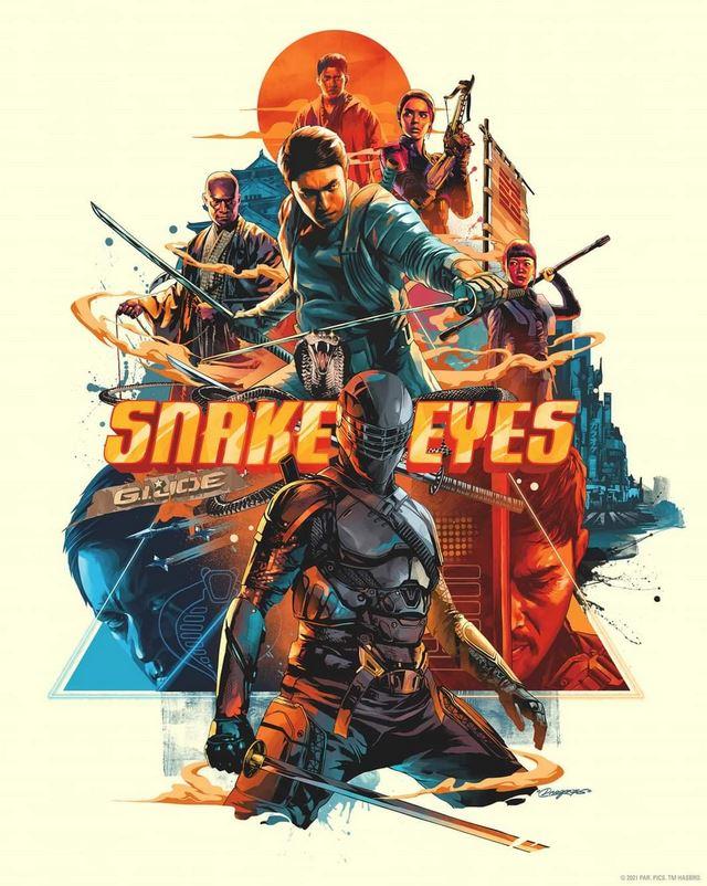 Snake Eyes G.I. Joe Origins, Action, Adventure, Fantasy, Sci-fi, Thriller, Movie Review by Rawlins, Rawlins GLAM, Rawlins Lifestyle