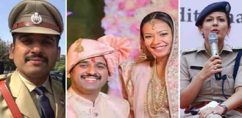 IPS Ankur Aggarwal and DCP Vrinda Shukla Love Story