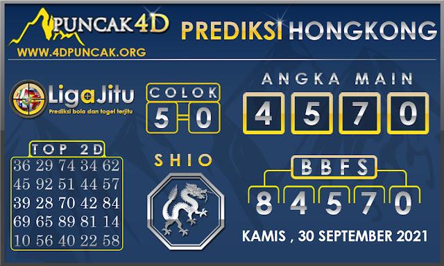 PREDIKSI TOGEL HONGKONG PUNCAK4D 30 SEPTEMBER 2021