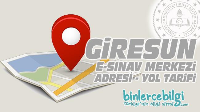 Giresun e-sınav merkezi adresi, Giresun ehliyet sınav merkezi nerede? Giresun e sınav merkezine nasıl gidilir?