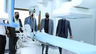مدير عام دائرة صحة البصرة يصدر عددا من التوصيات خلال زيارة ميدانية مسائية له الى مستشفى الصدر التعليمي