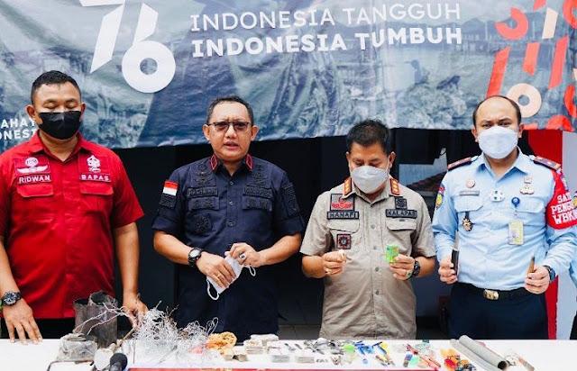 Korwil Madura dan Tim Gabungan Gelar Operasi di Rutan Bangkalan, Tidak Temuan Handphone dan Narkoba