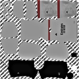 SL Benfica DLS kits 2021