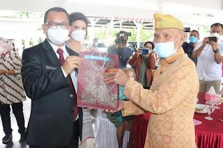 HUT ke-76 RI,  Bupati Toba dan Wakil Bupati Gelar Ramah Tamah dengan Veteran