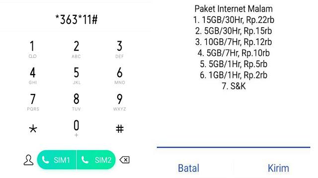 Kode Paket Murah Telkomsel 5 Ribu