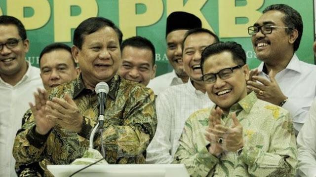 PKB Sudah Kepincut Ingin Duetkan Prabowo dengan Cak Imin