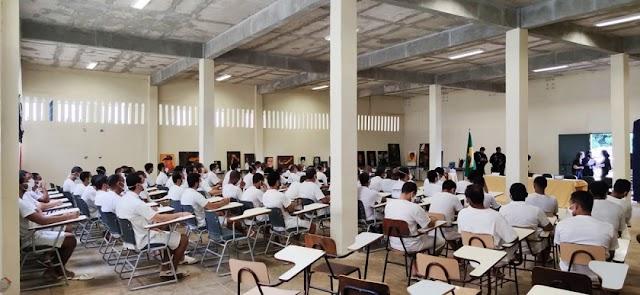 Curso de formação profissional tem aula inaugural na Papuda