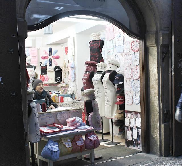 Local shop Prague