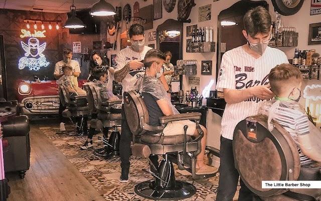 La barbería The Little Barber Shop, finalista del premio a la mejor barbería de España por tercer año consecutivo
