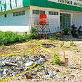 Ada Garis Polisi Terpasang di Halaman Puskesmas Bontoharu