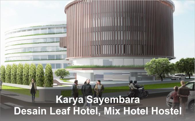 Desain Leaf Hotel