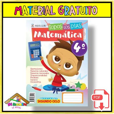 Todos los días matemáticas 4 PDF