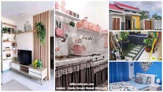 Desain Rumah Minimalis dengan Taman di dalam Rumah