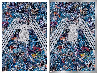 New York Comic Con 2021 Exclusive Venom #35 200th Issue Giclee Print by Mr. Garcin x Grey Matter Art x Marvel Comics